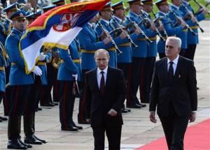 Putin ne Serbi