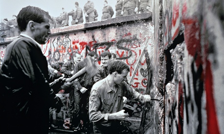 Demolition of the Berlin Wall, Germany - 1989