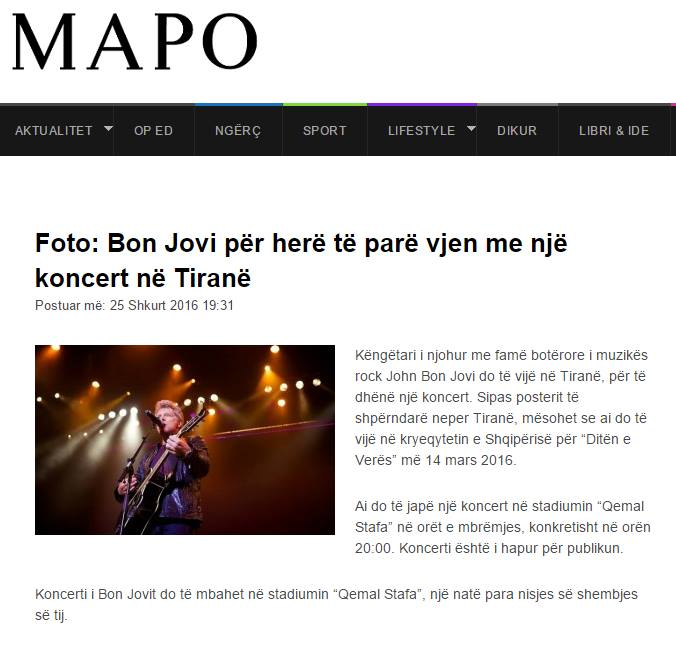 Mapo Bon Jovi