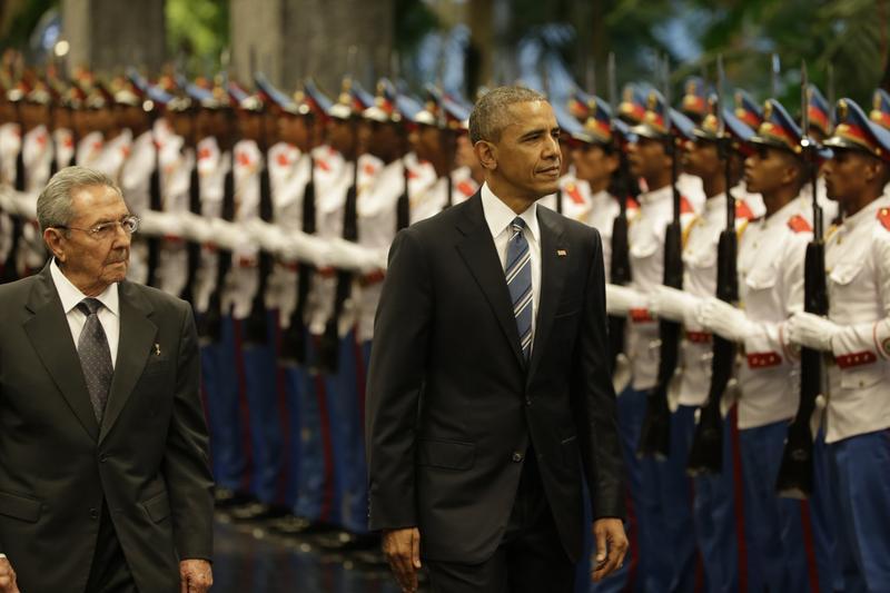 Obama ne Kube