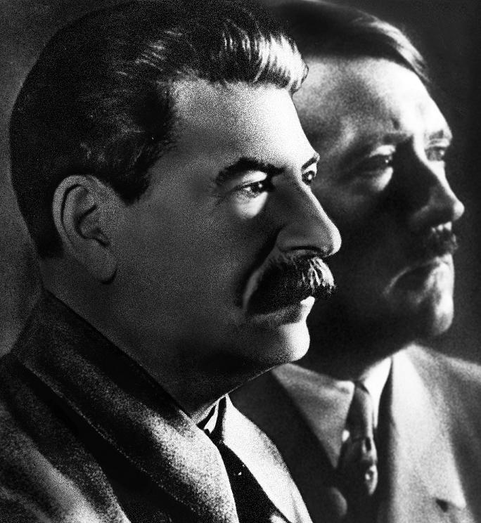 Hiteleri dhe Stalini