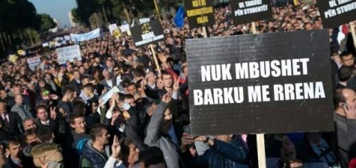 Protesta Basha